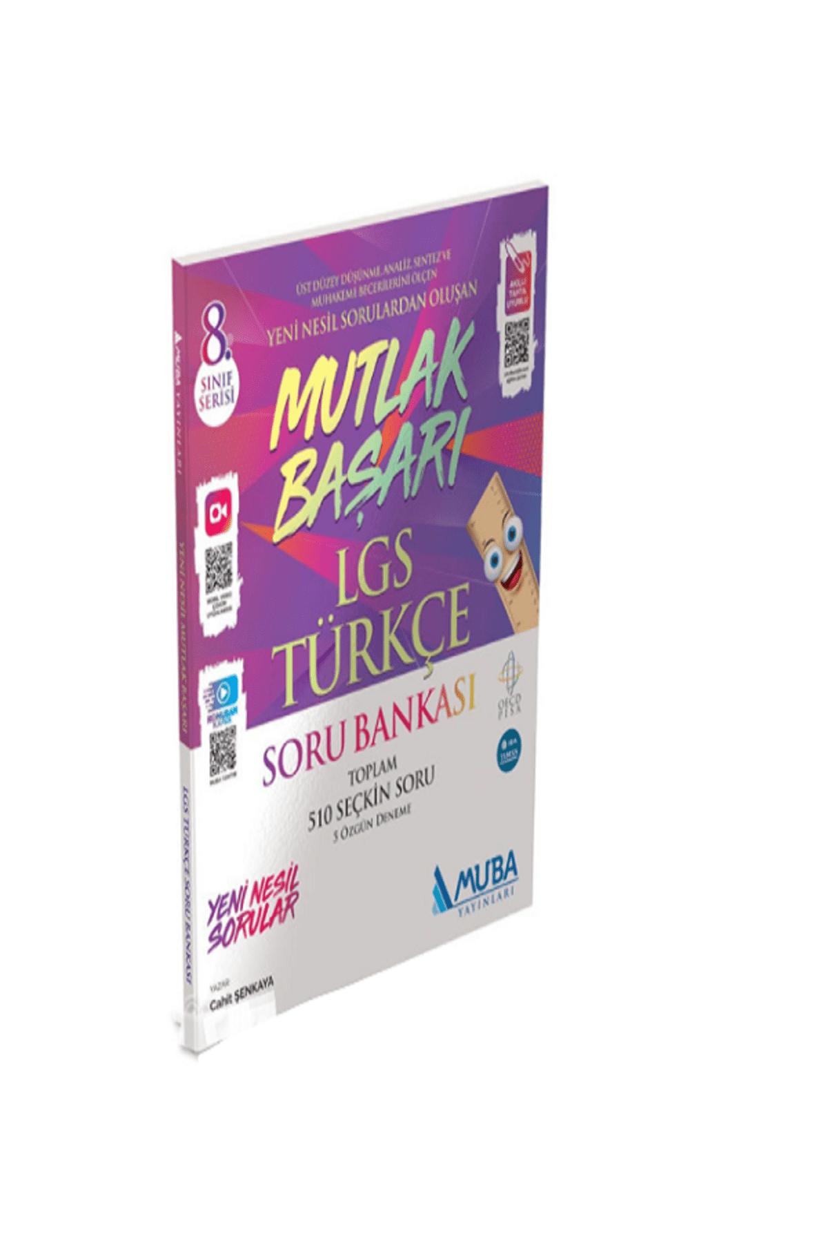 Muba Yayınları Muba Mutlak Başarı 8.sınıf Türkçe Soru Bankası