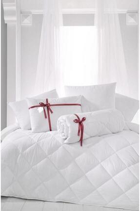 Madame Clean Home Tek Kişilik Antialerjik Lüx Microfiber Yorgan + 1 Adet 800 Gr Boncuk Slikon Yastık Seti