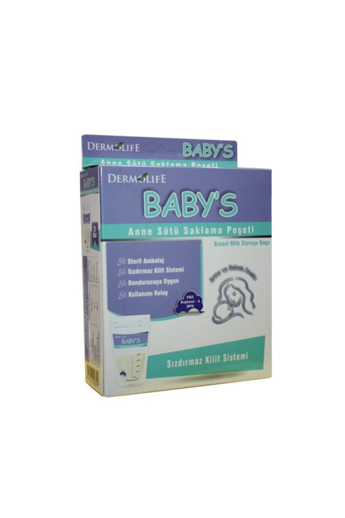 DenizPharma Baby's Anne Sütü Saklama Poşeti 20 Adet 1
