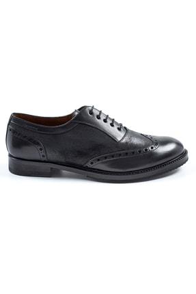Hemington Erkek El Yapımı Siyah Deri Ayakkabı