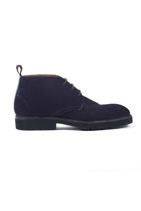 Hemington Erkek Bağcıklı El Yapımı Lacivert  Ayakkabı