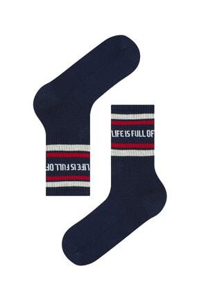 Penti Erkek Lacivert Pamuklu Cool Lıfe Soket Çorap
