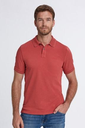 Hemington Erkek Vintage Görünümlü Kırmızı Polo Yaka T-shirt