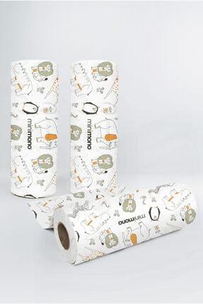 Minimono Mama Sandalyesi Ve Aktivite Örtüsü | 3'lü Paket | Kullan At |30 Adet | 100x120 Cm | Orman Hayvanları