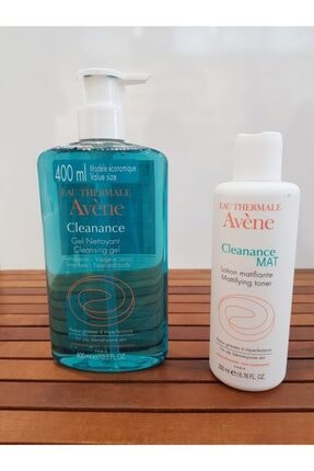 Avene Cleanance Gel 400ml+ Cleanance Mat 200ml