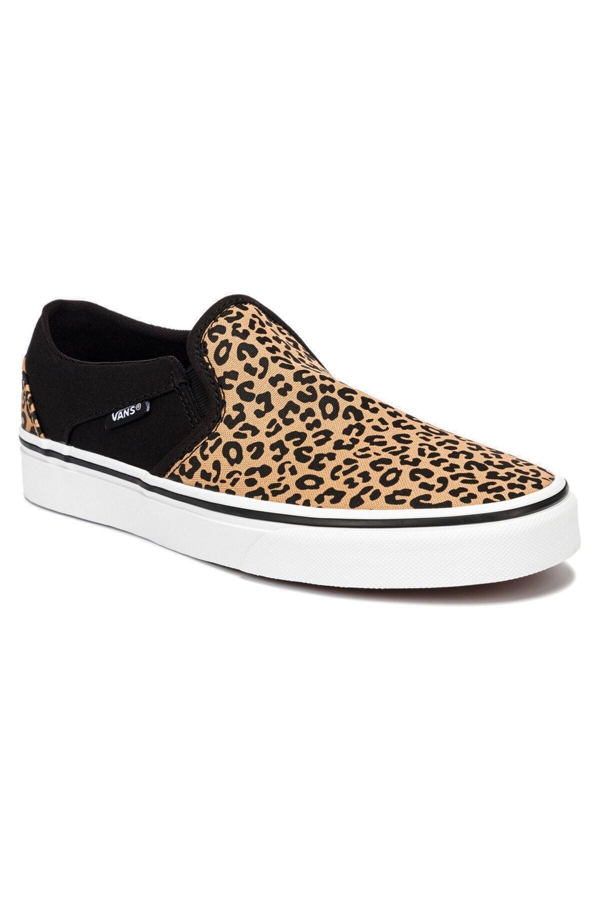 Vans WM ASHER Siyah Kadın Sneaker Ayakkabı 101096580 2