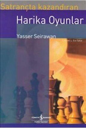 İş Bankası Kültür Yayınları Satrançta Kazandıran Harika Oyunlar /yasser Seirawan /