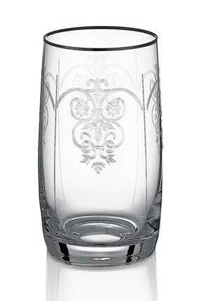 Cemile Helen Platinum 6'lı Meşrubat Bardağı 1Mn-Q8049-380