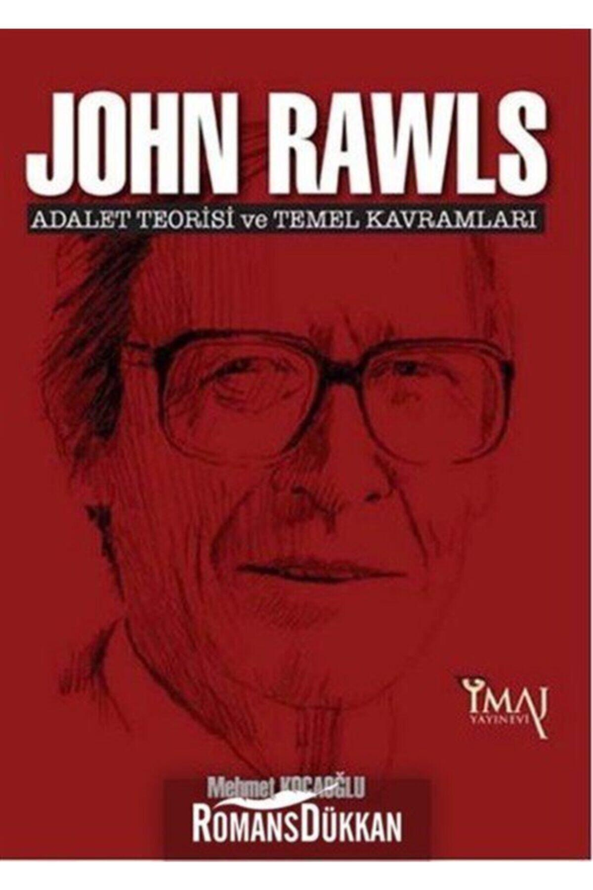 İmaj Yayıncılık John Rawls: Adalet Teorisi Ve Temel Kavramları 1