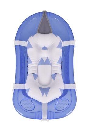 Sevi Bebe Bebek Banyo Hamağı Küvet Filesi Art Mavi