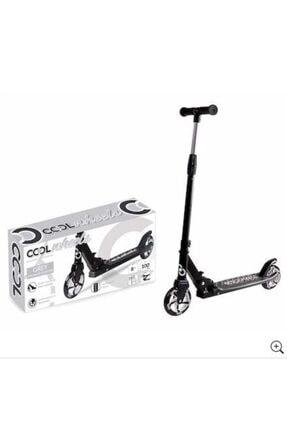 Scooter Cool Wheels 2 Tekerlekli Büyük Boy 8+ Yaş 100 Kg Taşır Siyah