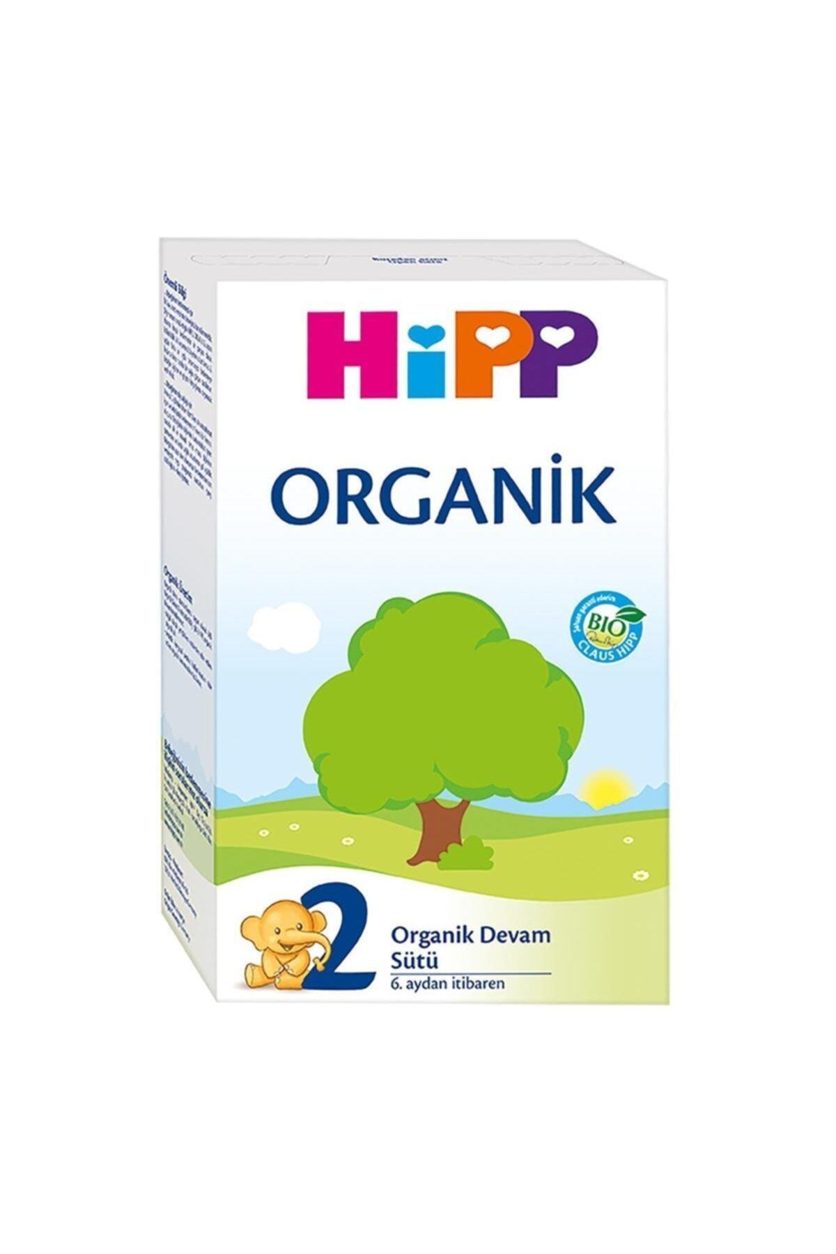 Hipp 2 Organik Devam Sütü 300 Gr 1