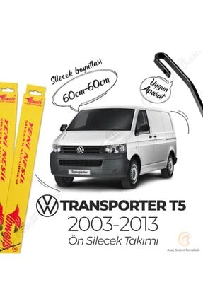 Inwells Volkswagen Transporter T5 Muz Silecek Takımı (2003-2013) Inwells