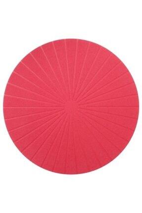 IKEA Amerikan Servis 1 Adet Yuvarlak 37cm Meridyendukkan Servis Altı Kırmızı