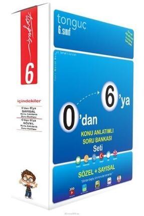 Tonguç Akademi Tonguç 6.Sınıf 0 Dan 6 Ya Konu Anlatımlı Soru Bankası Seti