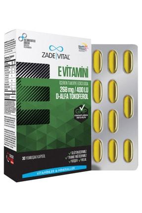 Zade Vital E Vitamini Blister 30 Kapsül
