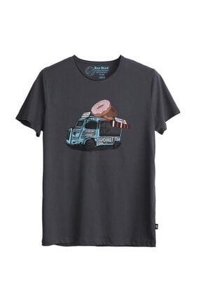 Bad Bear Erkek Gri Donut Tee T-shirt 21.01.07.018-gri