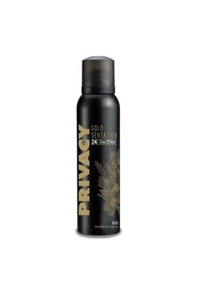 Privacy Gold Sensation Men Deodorant 150 ml