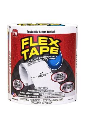 Arsimo Flex Tape Güçlü Suya Dayanıklı Su Sızdırmaz Sıcak Soğuk Tamir Bandı Beyaz