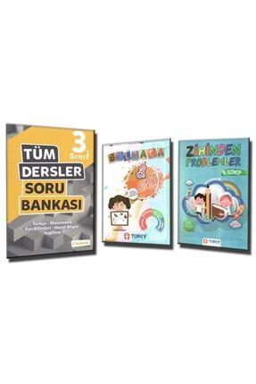 Tudem Yayınları TUDEM 3. SINIF TÜM DERSLER SORU BANKASI + BULMACA ve ZİHİNDEN PROBLEMLER