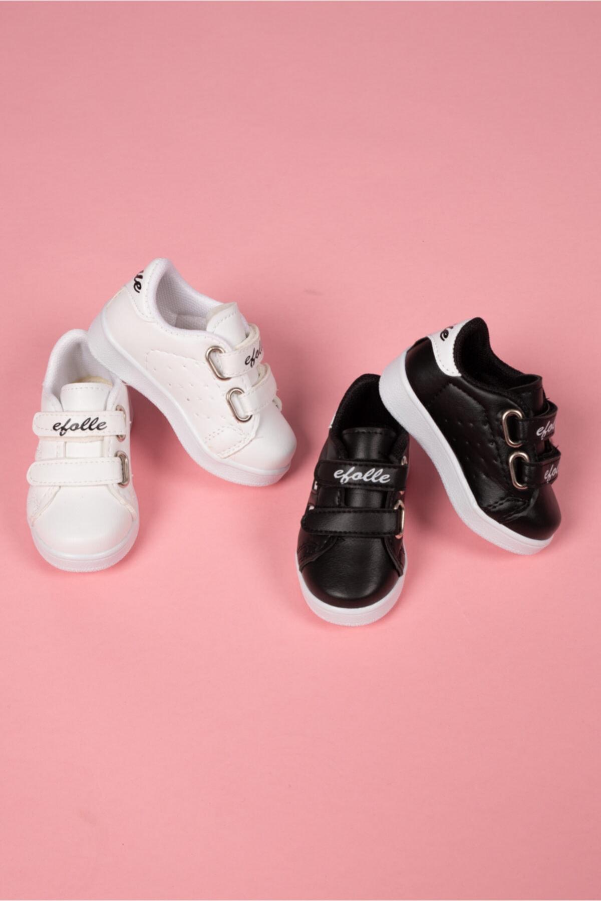 Efolle 2 Çift Unisex Çocuk Günlük Spor Ayakkabı 1