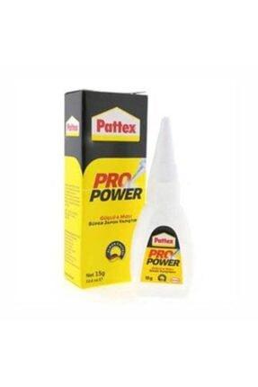 Pattex Süper Yapıstırıcı Likit 15 Gram Tr/en Pro Power Güçlü Hızlı Süper Japon Yapıştırıcı