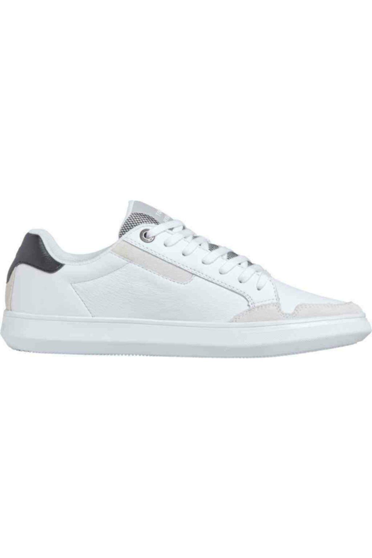 Tommy Hilfiger Th Erkek Essential Deri Cupsole Sneaker 1