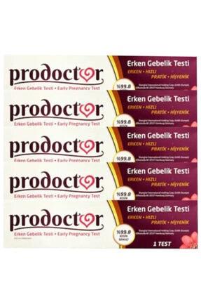 Prodoctor Erken Gebelik Testi %99.8 Kesin Sonuç X 5 Adet