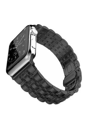 Apple Watch 2 Kordon Metal Katlamalı Paslanmaz Çelik 44mm Krd-14