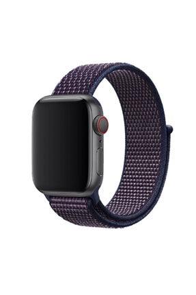 Apple Watch 2 Kordon Renkli Hafif Örgülü 38 Mm Krd-03