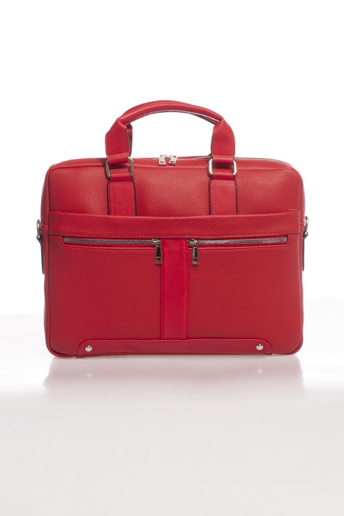 Sergio Giorgianni Luxury Mpist9141 Belinda Kırmızı Unısex Evrak Çantası 1