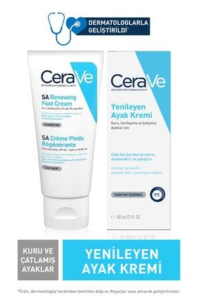 CeraVe Sa Renewing Foot Cream 88 Ml - Yenileyici Ayak Kremi