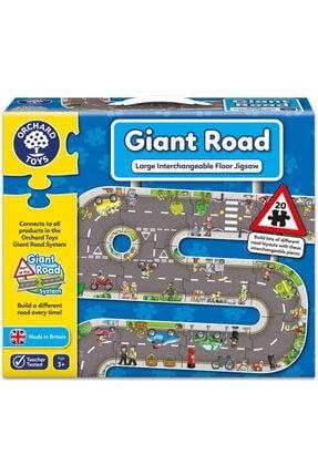 ORCHARD Puzzle Giant Road Jigsaw 3 Yaş+