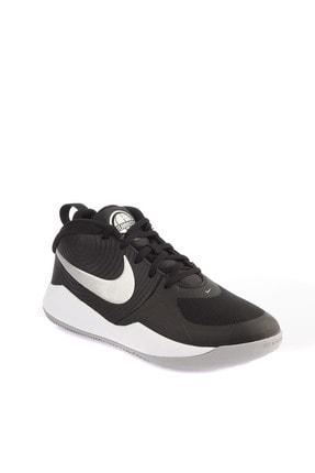 Nike Kids Siyah Team Hustle Basketbol Ayakkabısı
