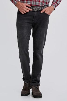 Hemington Erkek Siyah Denim Pantolon