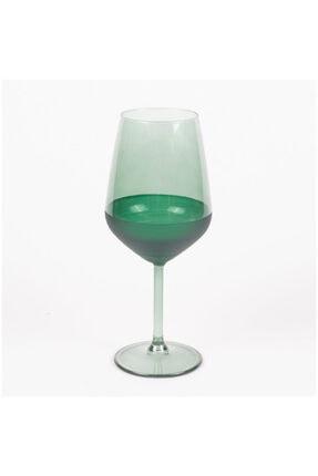 Rakle Matte 6'lı Ayaklı Bardak - Yeşil / 490 ml