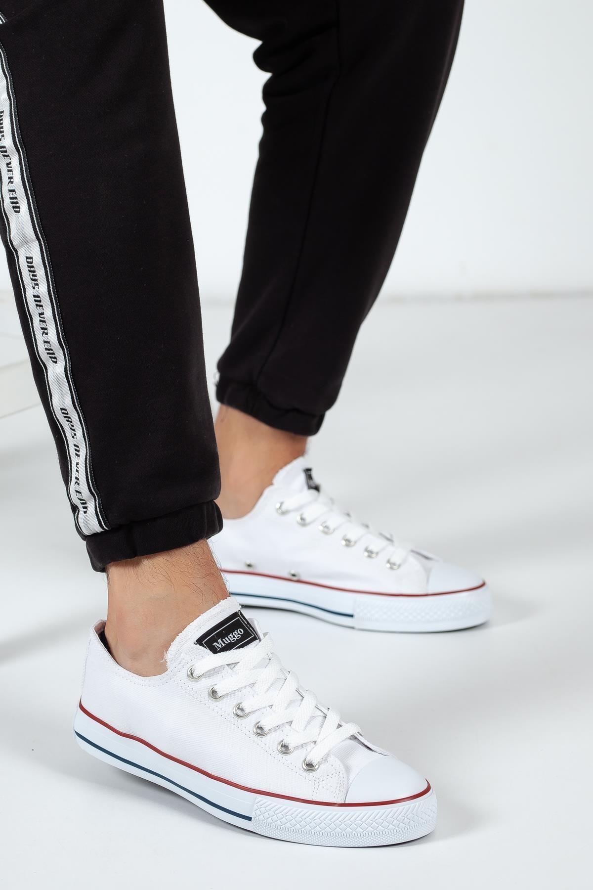 MUGGO Crs35 Keten Unisex Sneaker 2