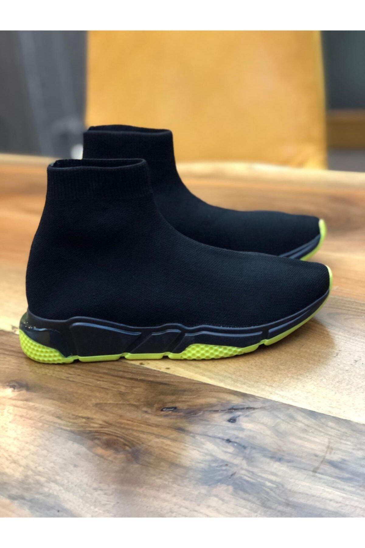 POLENS Kadın Çorap Tarzı Sneakers Spor Ayakkabı 1