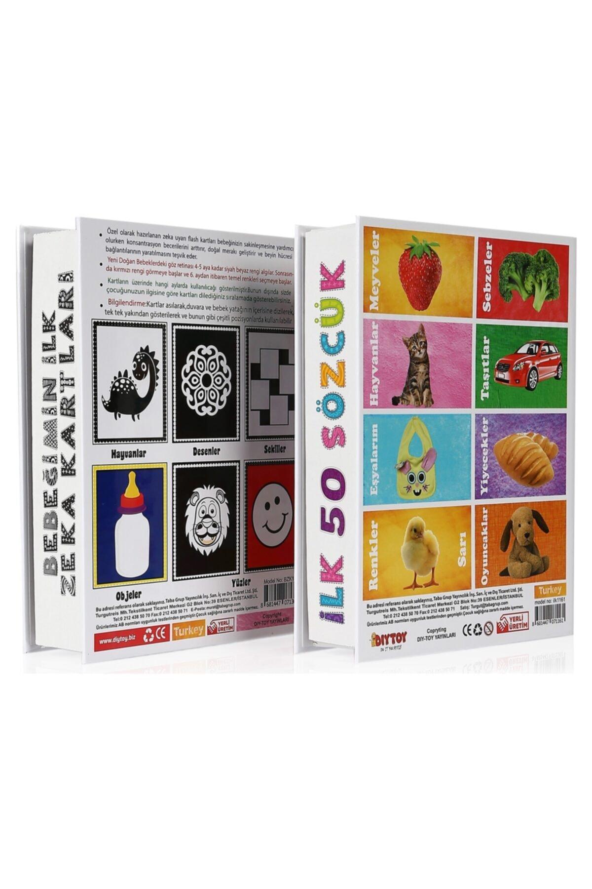 DIY Toys Flash Cards Ilk 50 Sözcük + Bebeğimin Ilk Zeka Kartları / 2