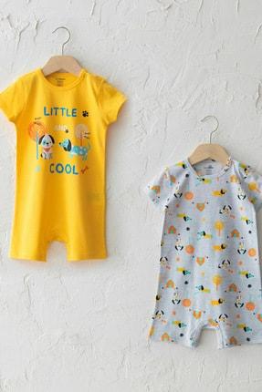LC Waikiki Erkek Bebek Orta Sarı R0A Tulum