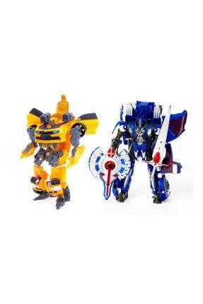 transformers Estrolla Taikongzhans Bumblebee Ve Stil Optimus Prime 2 Li Set 22 cm 8607