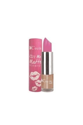 Cecile Kiss Me Matte Mineral Mat Ruj 301