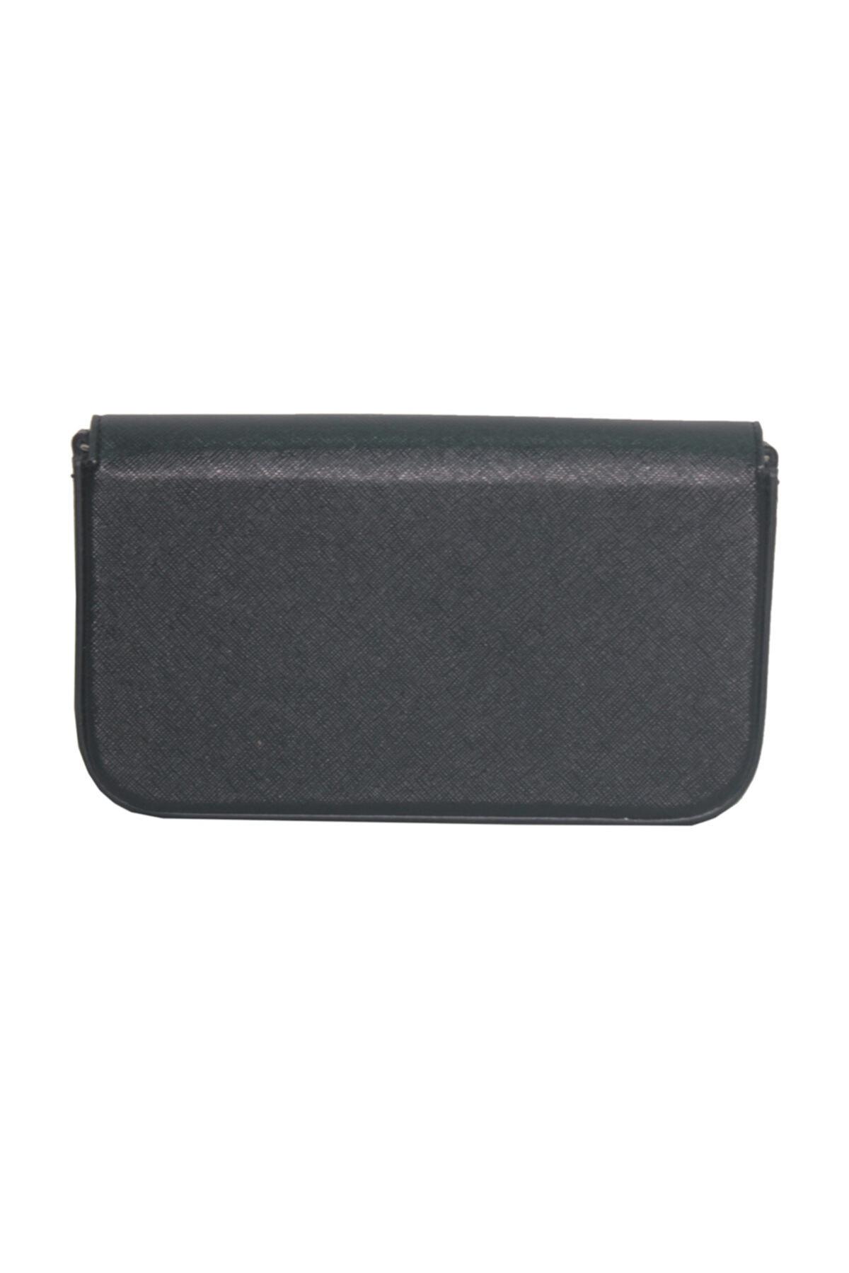 Dama Stile Kadın Siyah Clutch Çanta 2