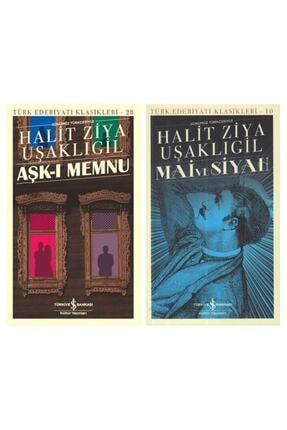 İş Bankası Kültür Yayınları Iş Bankası Halit Ziya Uşaklıgil Mai Ve Siyah + Aşkı Memnu 2 Kitap