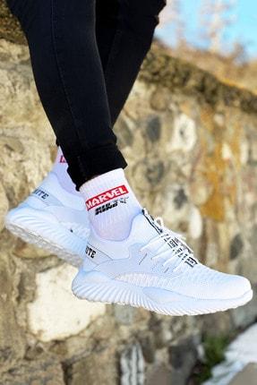BIG KING Beyaz Triko Erkek Spor Ayakkabı