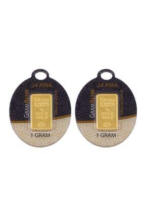 Tuğrul Kuyumculuk 2 Adet 1 gr 24 Ayar gram Altın