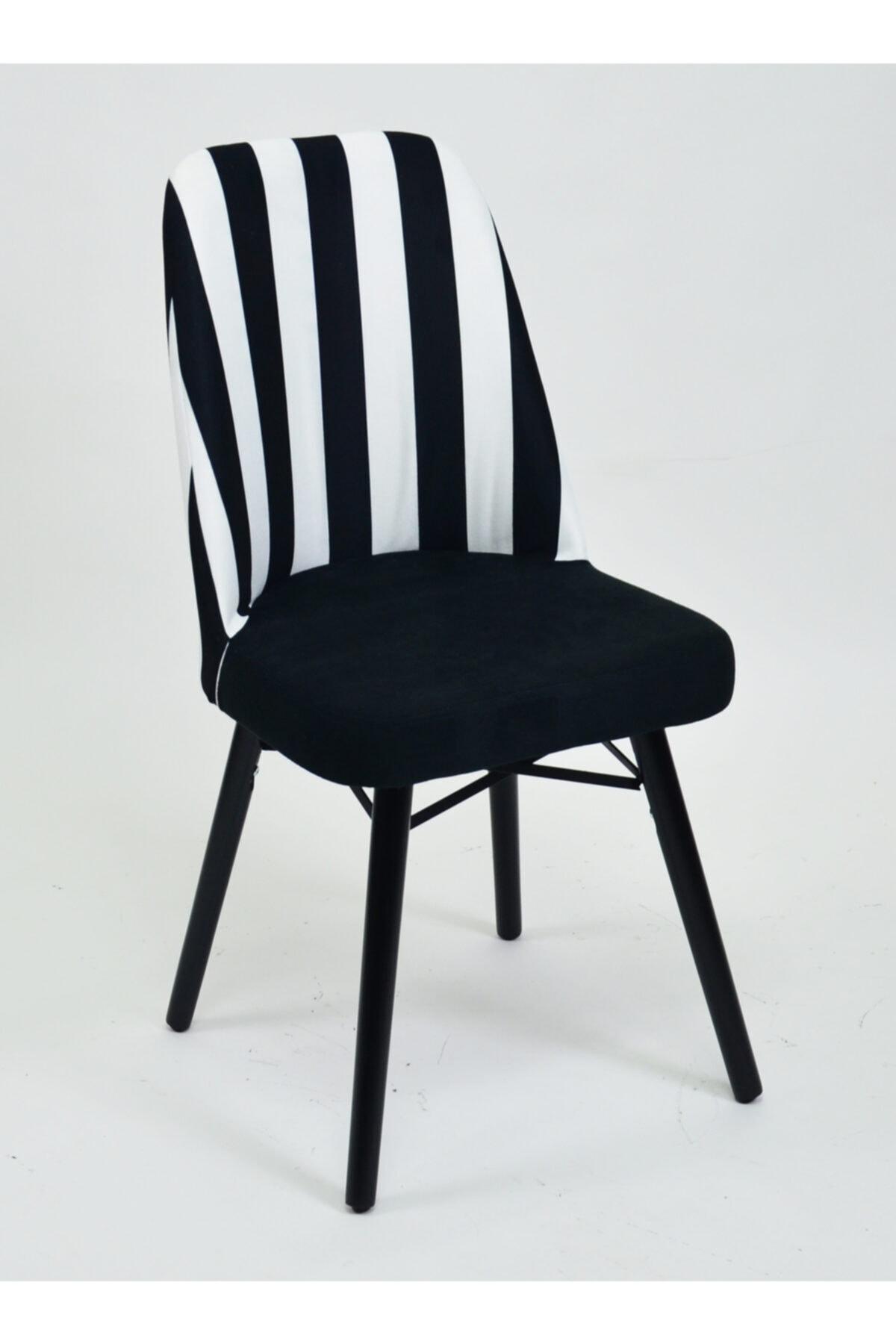New Perle Concept Ahşap Mutfak Ve Salon Sandalyeleri 1