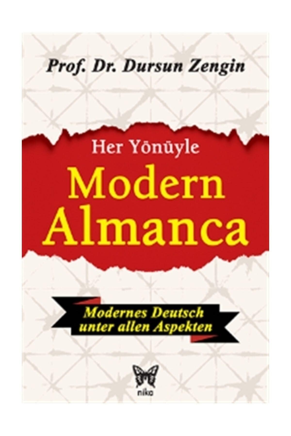 Nika Yayınevi Her Yönüyle Modern Almanca - Dursun Zengin 1