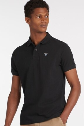 Barbour Erkek  Sports Polo Yaka Bk31 Black