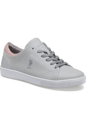 U.S. Polo Assn. REST Gri Kadın Basic Casual Ayakkabı 100504860